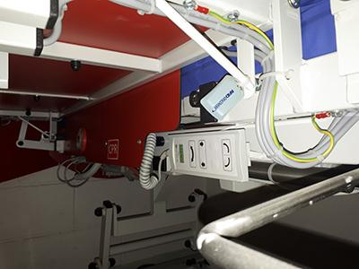 active RFID tag on spinal bed in shrewsbury hospital