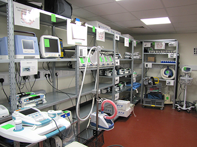 east kent medical equipment library