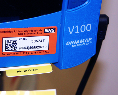 gs1 labels in hospital