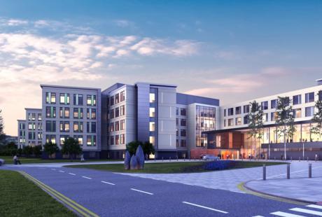 Aneurin Bevan Health Board's Grange Hospital, Wales