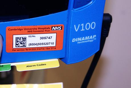 gs1 asset labelling in hospital